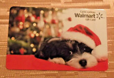 Walmart Gift Card Xmas Puppy with hat 2015 Collectible $0 value-FD49036 - Canada
