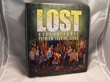 LOST SEASON 3 COLLECTORS BINDER