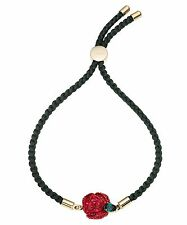 Swarovski Crystal Atelier The Beauty and the Beast Cord Bracelet Rare 5297530