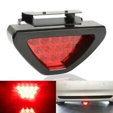 F1 Style Rear 3rd Tail Brake Stop Light 12 LED Red Strobe Safety Bumper Fog Lamp