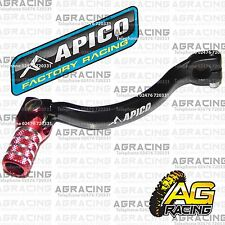Apico Black Red Gear Pedal Lever Shifter For Honda CR 125 1990 Motocross Enduro
