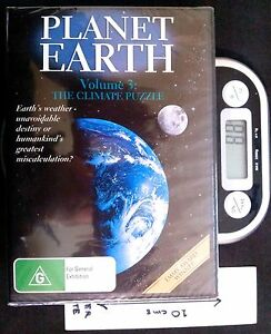 Planet Earth #3: The Climate Puzzle - DVD (New, Sealed)