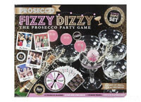 20pc Prosecco Fizzy Dizzy Party Skill Luck Game & Drinking Ping Pong Ball Glass