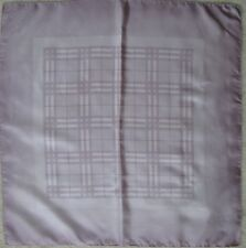 -Authentique Foulard BURBERRY London  100% soie  TBEG  vintage Scarf 66 x 67 cm