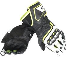 Guantes Dainese Carbon D1 Long Negro-Blanco-Fluor talla L