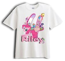My Little Pony Personalized - Birthday Shirt Party Favor