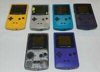 Nintendo Game Boy Color GBC System Console CGB-001 - You Pick Color!