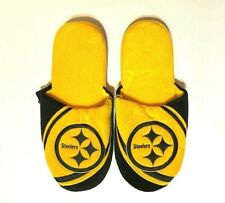 Pittsburgh Steelers Men's 2019 Slide Slippers Size Large New NFL