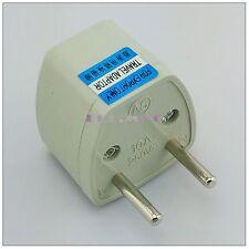 1 pcs US AU DE all countries to EU AC Power Plug Travel Outlet Converter Socket