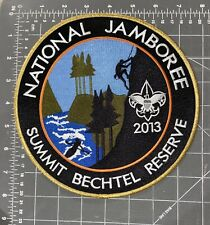 Boy Scouts BSA 2013 National Jamboree Huge Jacket Patch Summit Bechtel Reserve