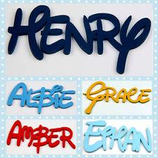 DISNEY personalizzata in LEGNO nome PLACCHE parole / PORTA ARTE / Lettere / Firmare # 100