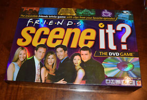 Friends Scene it? DVD Board Game Replacement Parts & Pieces 2005 Mattel
