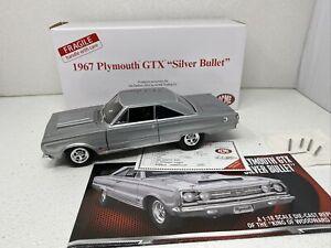 1/18 Danbury Acme 1967 Plymouth GTX Silver Bullet  VERY RARE FIND
