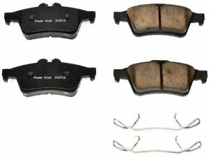 For 2006-2011 Volvo S40 Disc Brake Pad and Hardware Kit Rear Power Stop 81224ZT