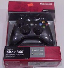 Microsoft Wireless Controller XBOX 360 for Windows Black - NEW!