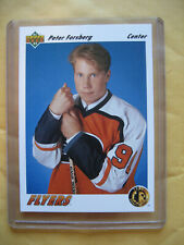 1991-92 Upper Deck Peter Forsberg RC Rookie #64 Flyers Avalanche