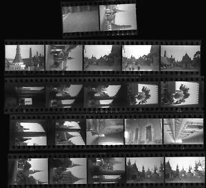 N215 1932 35MM NEGATIVES..STREET SCENES WAT PRAGAW TEMPLES BANGKOK SIAM THAILAND
