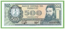 PARAGUAY - 500 GUARANIES - 1952(1995) - P-212(2) - UNC - REAL FOTO