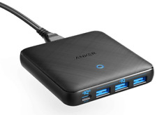 Anker USB C Charger, 65W 4 Port PIQ 3.0&GaN Fast Charger Adapter, PowerPort Atom
