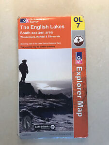 Ordnance Survey Map The English Lakes SE Area OL7