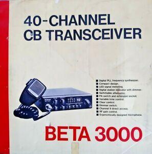 Cybernet Beta 3000 CB Radio