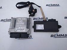BMW 320d E90 2007 ENGINE ECU KIT WITH KEY DDE 7 809 000