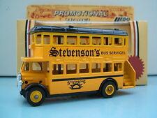 Lledo Promo LP15 D/D AEC Regent Bus Stevenson's Bus Services
