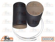 2 MANCHONS de chauffage + colliers NEUFS pour Citroen 2CV DYANE MEHARI -38-