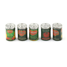 Mini Fruit Canned Dollhouse Miniature Food Kitchen Doll Accessories Xmas Gift PL