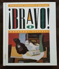 Bravo 2: Annotated Teacher's Edition by Munoz, Paulus, et. al. Terrell