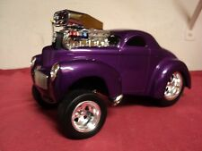Funline  Muscle Machines 1941 Willys Coupe 1/18 scale Used (custom) Purple