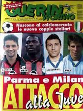 Guerin Sportivo 27 1995 Poster di Paul INCE Inter - Baggio Weah  [GS24]