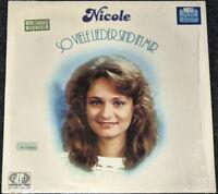 NICOLE - So viele Lieder sind in mir - LP Schallplatte - Sammlerstück selten rar