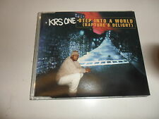 Cd   KRS-One  ‎– Step Into A World (Rapture's Delight)