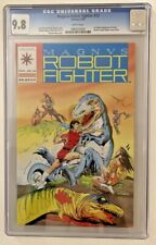 Magnus Robot Fighter #12 CGC 9.8 WHITE Pages 1st Valiant App of Turok 1992