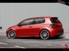"Volkswagen Golf MK6 VI 3pt Set  KIT  Coppia Minigonne Laterali Tuning ""Inferno"""