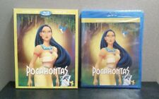 Authentic Disney: Pocahontas  (Blu-ray + DVD + Digital)  w/Slipcover   BRAND NEW