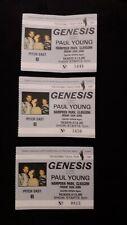 More details for 3 x invisible touch tour 1987 genesis concert ticket stub hampden park 1987