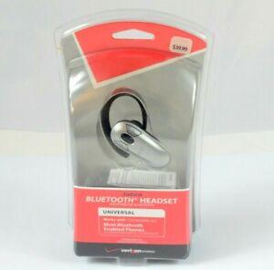 Jabra Verizon Bluetooth Silver/Black Ear-Hook Headset VBT185Z NEW! UNOPENED!