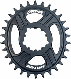 Rotor Q-Ring Direct Mount Oval Chainring: for 3-Bolt Direct-Mount SRAM/TruVativ