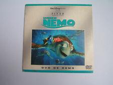DEMO DVD FINDING NEMO French edition WALT DISNEY PIXAR Le monde de NEMO