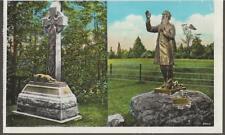 Early 1900's Unused PC Irish Brigade Monument Corby,  Gettysburg Battlefield
