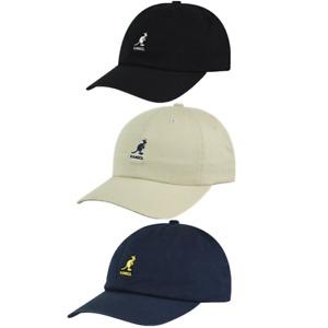 Kangol Washed Baseball Hat Adjustable Baseball Cap
