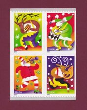 Scott #3825-28 Holiday Music Makers (Booklet Block of 4) 2003 Mint NH