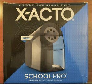 X-ACTO Electric Pencil Sharpener School Pro Brand New