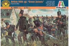 """ITALERI 6083 1/72 95ème Régiment Anglais – British 95th Regiment """"Green Jackets"""""""