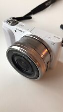 Sony Alpha NEX-5N 16.1MP Digital Camera - White (body + Lens)  (NEX-5N/B) - Mint