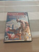 God of War Playstation 2 PS2 Video Game Complete