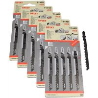 25 x Jigsaw Blades T144D High Speed Wood Cutting HCS Fits AEG