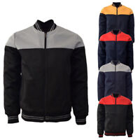 Men's Maximos Zip Up Color Block Polyester Slim Fit Lightweight Track Jacket